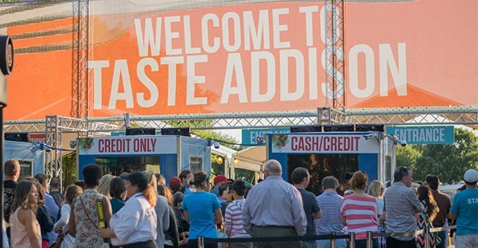 Image result for Taste Addison at Addison Circle Park